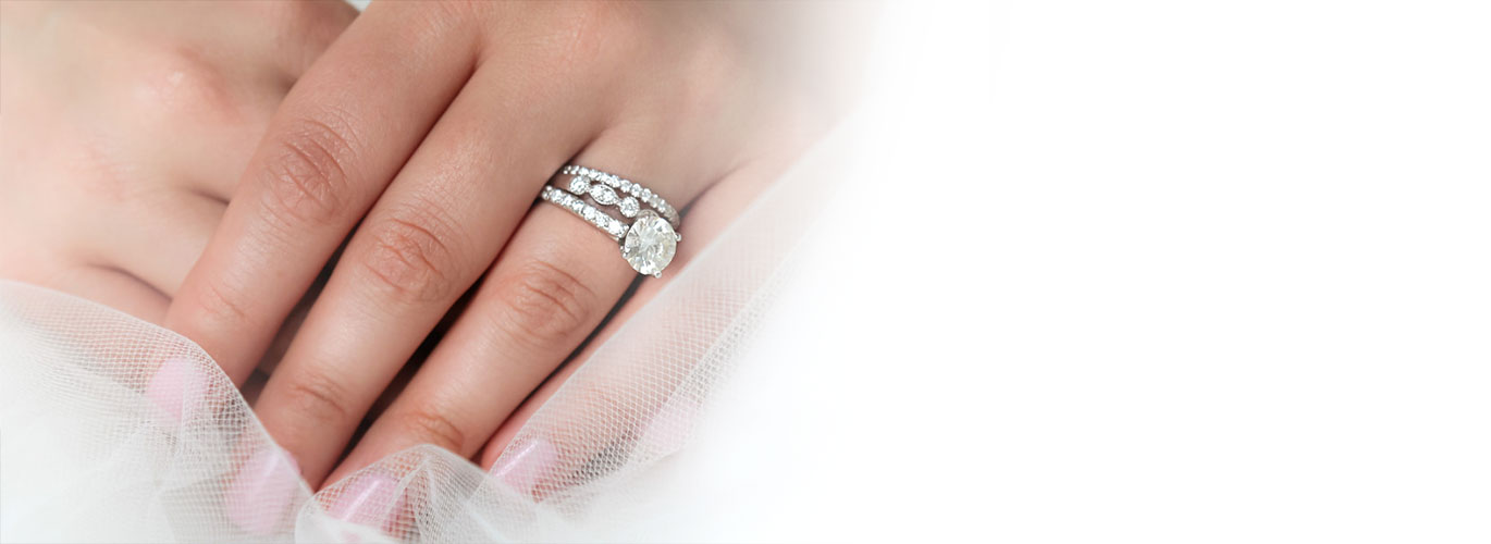 Diamond Wedding Bands Eternity Rings InterContinental Jewelers